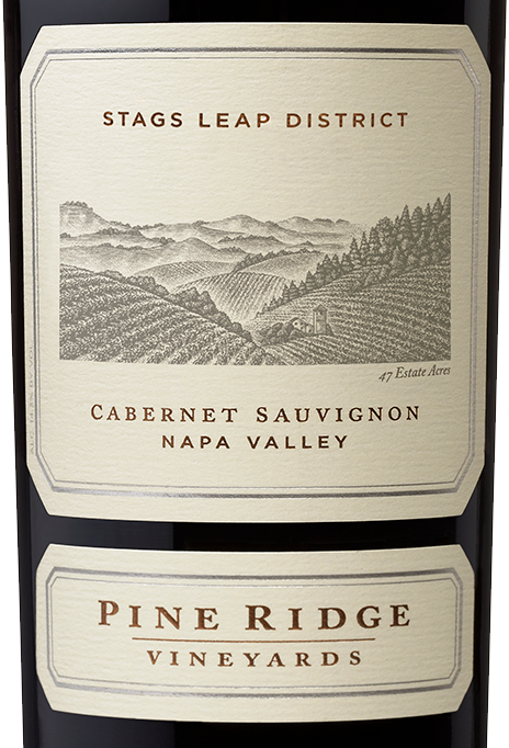 Bottle of Stags Leap District Cabernet Sauvignon 2014